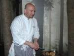 Chef Alain Seret avec Petit Chaperon Rouge