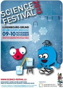 Affiche Science Festival 2013