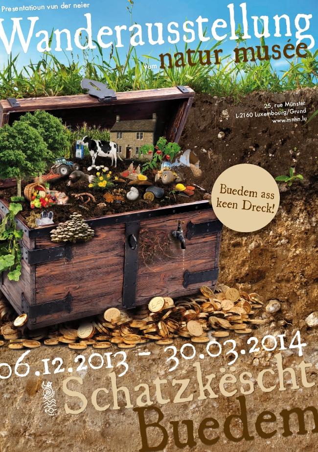 mus e national d 39 histoire naturelle neue wanderausstellung schatzk scht buedem 6 12 13 30. Black Bedroom Furniture Sets. Home Design Ideas