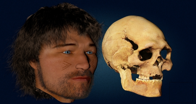 Reconstitution crâne Loschbourg