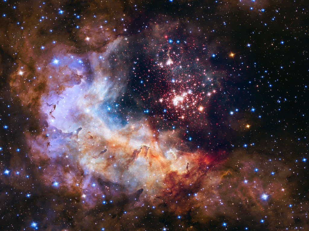 Credits: NASA, ESA, the Hubble Heritage Team (STScI/AURA), A. Nota (ESA/STScI) and the Westerlund 2 Science Team