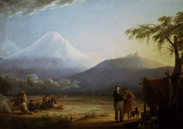 A.v.Humboldt u. A.Bonpland / Weitsch - A.v.Humboldt &. A.Bonpland / Weitsch - A. von Humboldt et A. Bonpland / Weitsch