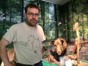 In der Natur[musée]geschichte vom 6. April erklärt der Forscher Alain Frantz, wo er das Material benutzen wird.