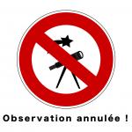 Observation annulée_titre